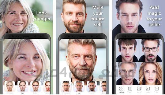 تحميل برنامج تكبير العمر وتسغيرة مجاناً تطبيق faceapp