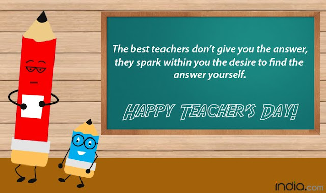 Teacher's Day Wishes