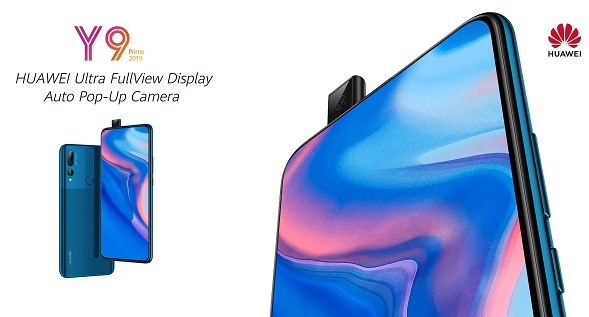 Huawei Y9 Prime 2019 : Full Hardware Specs, Features, Prices and Availability