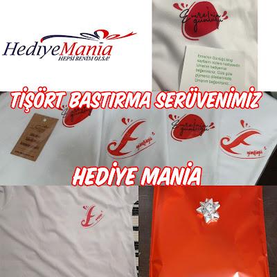 Tişört Bastırma Serüvenimiz / Hediye Mania