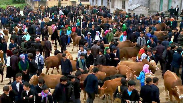 Meo Vac market - Ha Giang 2