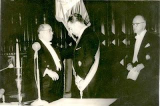 Asunción al mando presidencial de Fernando Belaúnde Terry 28/07/1963