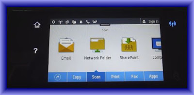 Scan To email On HP OfficeJet Pro 8730