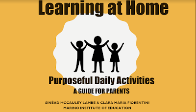 Learning at home for preschoolers