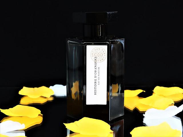 parfum L'Artisan Parfumeur Histoire d'Orangers, L'Artisan Parfumeur Histoire d'Orangers avis, histoire d'orangers l'artisan parfumeur revue, parfum fleur d'oranger
