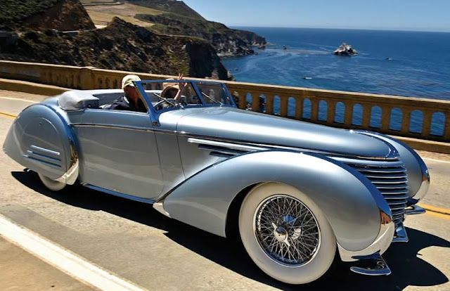 Delahaye 145 1930s French classic car