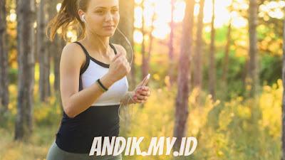 daya tahan tubuh, imunitas, olahraga, wanita, lari,