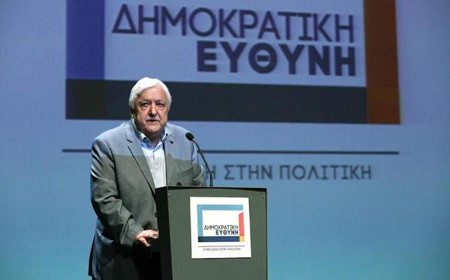 """Θεσπρωτία: Το ποσοστό στη Θεσπρωτία της """"Δημοκρατικής Ευθύνης"""" του Θεσπρωτού Αλ. Παπαδόπουλου"""