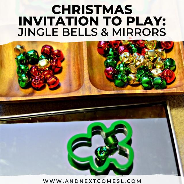 Christmas invitation to play activity