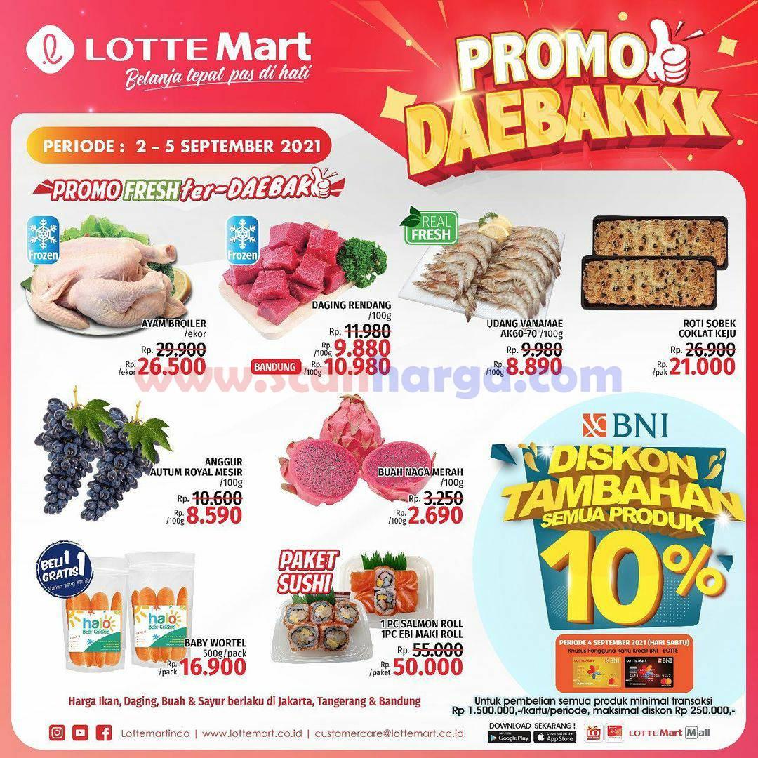 Katalog Promo Lottemart Weekend 2 - 5 September 2021