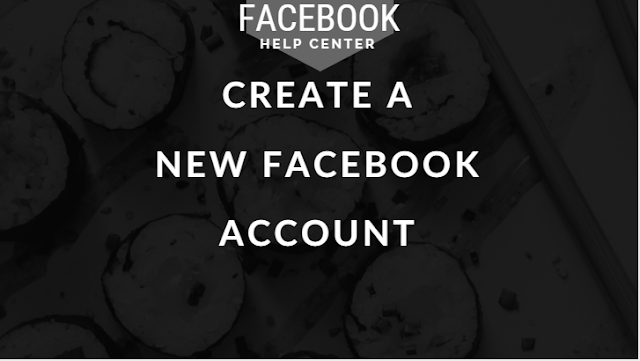 FB New Account Create now