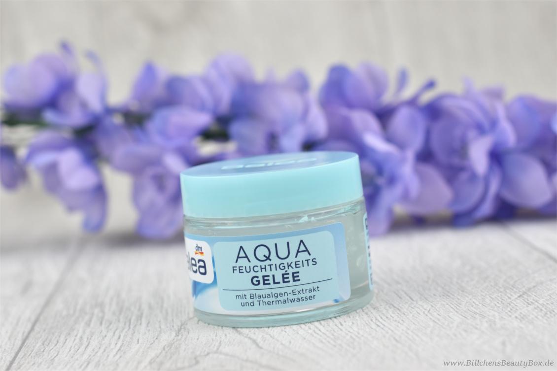 Neuheiten aus der Drogerie im Test - Balea Aqua Feuchtigkeits-Gelée Gesichtspflege