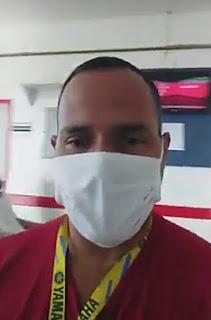 Nas redes sociais internauta denúncia o Hospital Regional de Guarabira PB