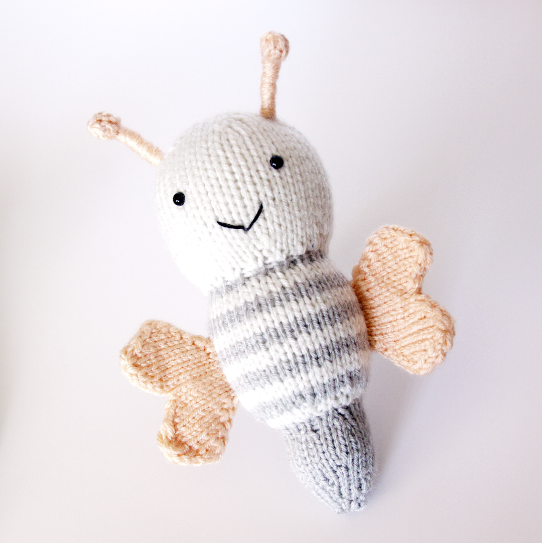 Show and Tell Meg: FO: A Jingling Butterfly with His Cocoon