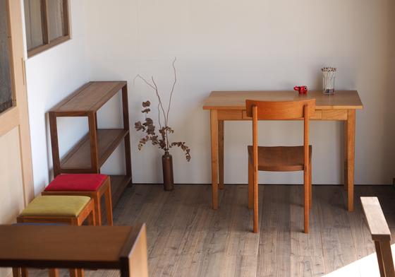 武蔵村山市の家具工房併設ギャラリー