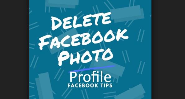 delete facebook profile picture