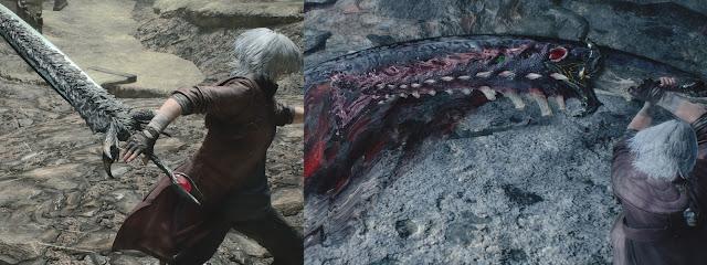 Dante Sparda Force Edge Devil May Cry V Armas Icónicas