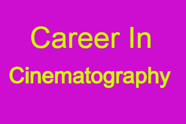 opportunity to start cinematography