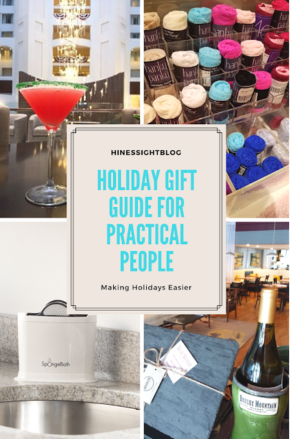 Holiday Gift Guide for Practical People. From Experiences to items to keep your sponge clean at all times. Gifts that practical people want.