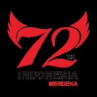 Logo Hut RI ke 72 tahun