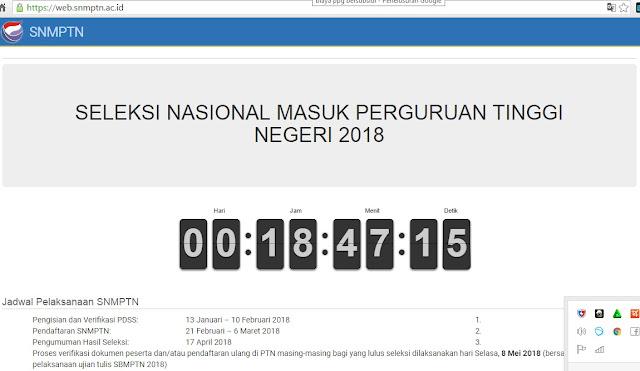Syarat, Jadwal dan Cara Mendaftar SNMPTN 2018