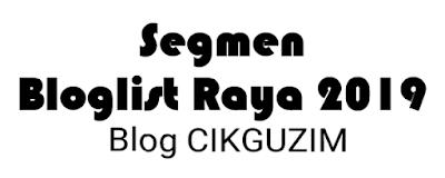 Misi pencarian bloglist blog cikguzim