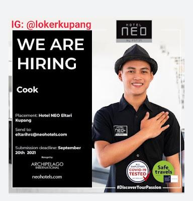 Lowongan Kerja Hotel Neo Elatari Kupang sebagai Cook
