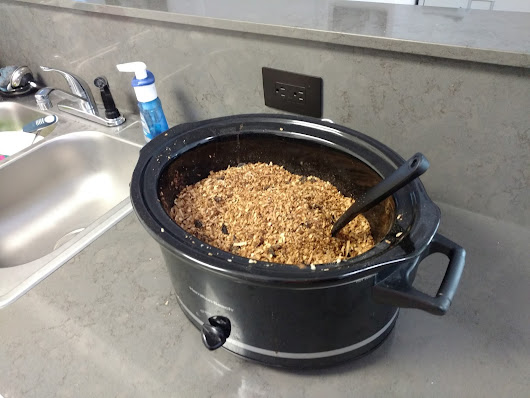 Simple Crock-Pot Granola...