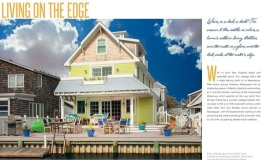 Coastal Cottage Homes Photographs