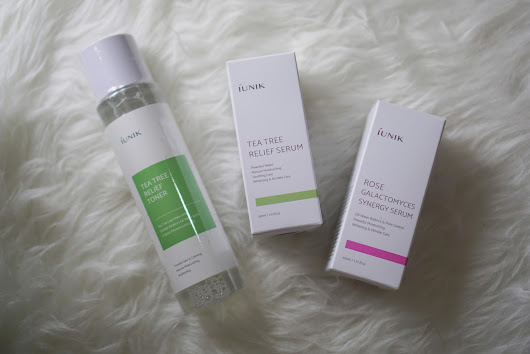 Beauty Appetite by Jessica Simon: iUnik Tea Tree Relief Toner, Tea Tree Relief Serum, Rose Galactomyces Synergy Serum Review