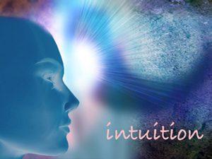 Przedstawienie człowieka posiadającego intuicję