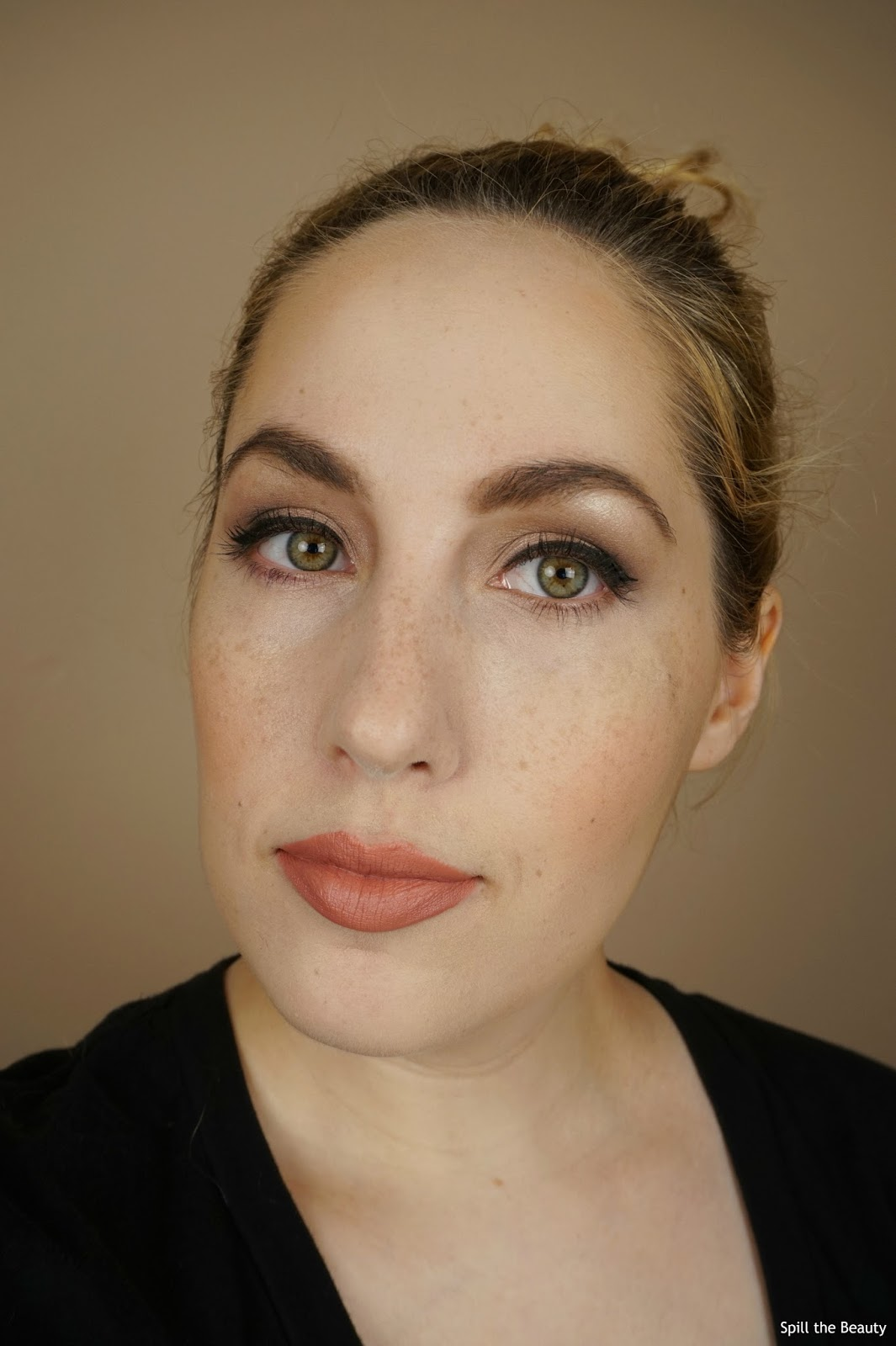 joe fresh eyeshadow palette neutrals review look