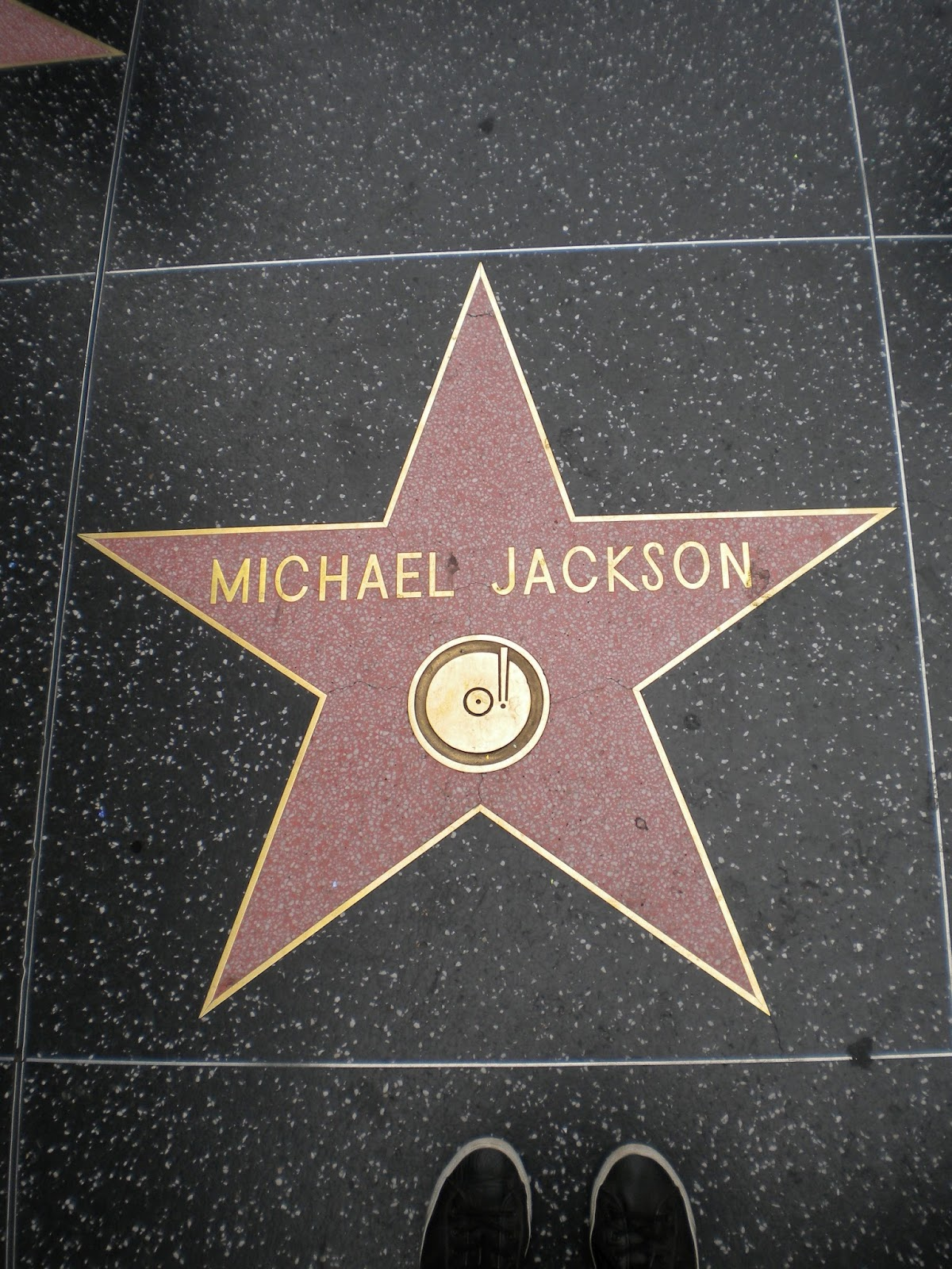Michael Jackson Walk of Fame Hollywood Los Angeles Mallaspulla matkakertomus