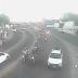 Largo da Urbana com trânsito intenso
