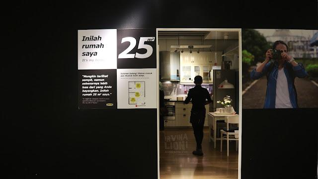 Inspirasi Interior Rumah Mungil Ala IKEA Ukuran 25 M2