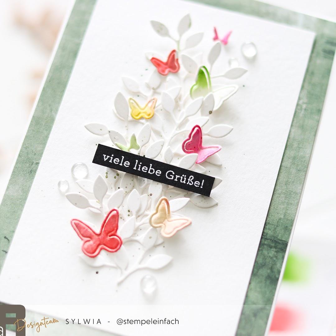 Karte-Schmetterlinge-Renke