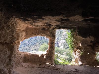 Necropolis of Pantalica. San Micidiario.