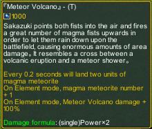 Dream One Piece 4.2 Meteor Volcano detail