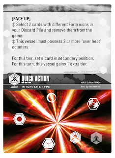 INTERVENE card Quick Action
