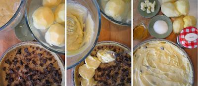 Tarta de pera y manzana (Siempredulces) - Elaboración Paso 12