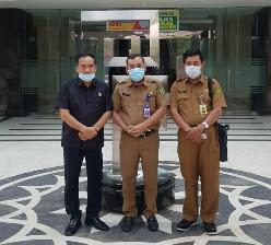 Bahas Peningkatakan Jalan, Ketua DPRD Inhil Kunjungi PUPR Riau