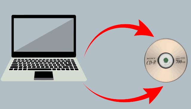 كيف نسخ الملفات على cd أو dvd بدون أي برنامج ويندوز 10 . 8