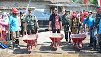 Empat Kodim di Wilayah Kodam IV Diponegoro Gelar TMMD Reguler ke-105