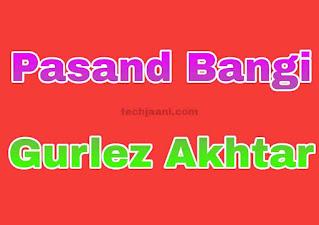 Pasand Bangi Lyrics In Hindi