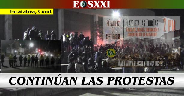A pesar de los 19 capturados, 2 protestas más para este sábado 12S