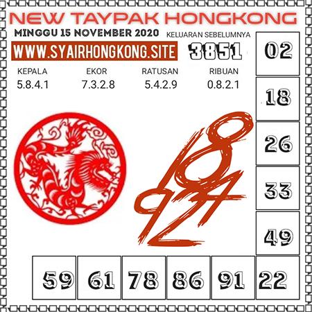 Prediksi Togel New Taypak Hongkong Minggu 15 November 2020