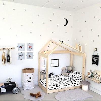 ejemplo de una habitación montessori
