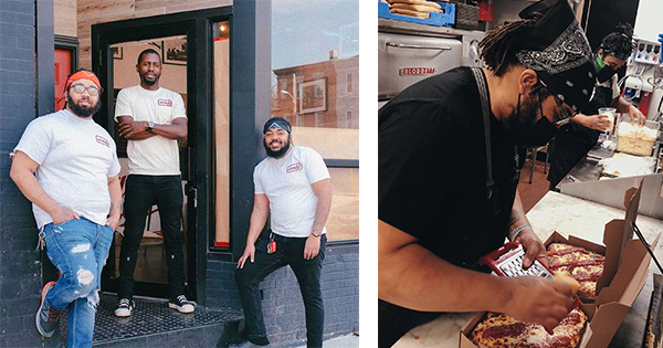 Founders of Down North Pizza