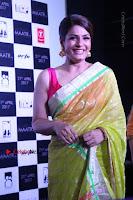 Bollywood Actress Raveena Tandon in Transparent Green Saree at Trailer Launch Of Film Maatr  0013.JPG