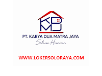 Lowongan Perusahaan Developer Boyolali Marketing/Sales Property di PT Karya Dua Matra Jaya